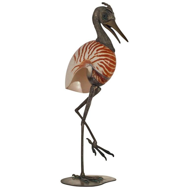 Gabriella Binazzi Signed Bird Sculpture
