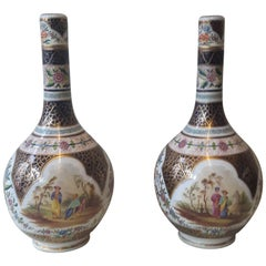 Pair of 19th Century Paris Vase