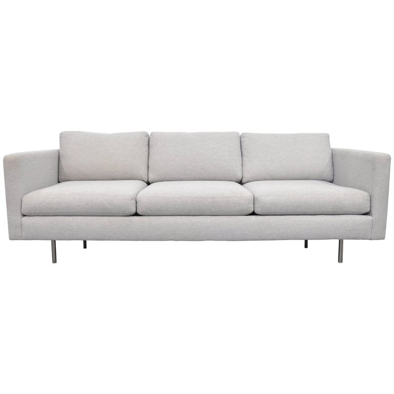 Milo Baughman for Thayer Coggin Gray Design Classic Sofa For Sale