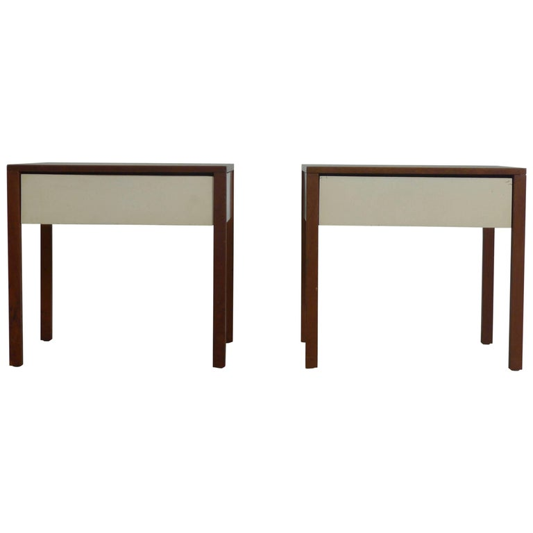 Florence Knoll, Pair of Nightstands for Knoll International, 1960s