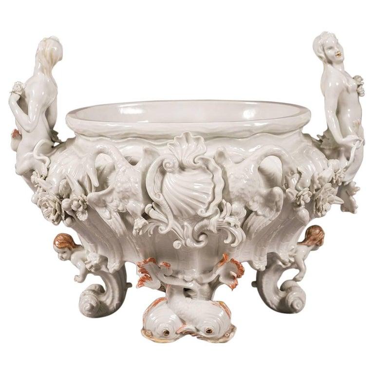 Early 20th Century Meissen Porcelain Centerpiece