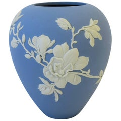 Blue and White Vase by Wedgewood, 21st Century