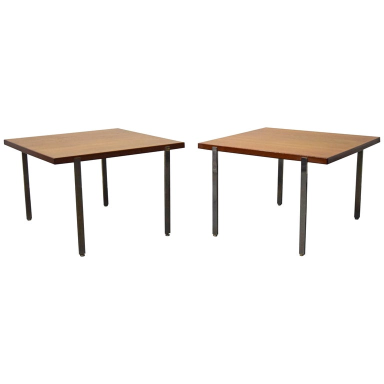 Pair of Harvey Probber Architectural Series End Tables