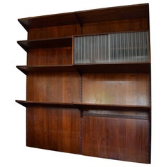Rosewood FM Shelving System by Kai Kristiansen, 1960s