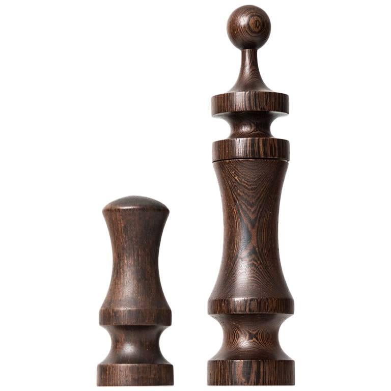 Laurids Lonborg Salt Shaker and Peppermill Produced in Denmark