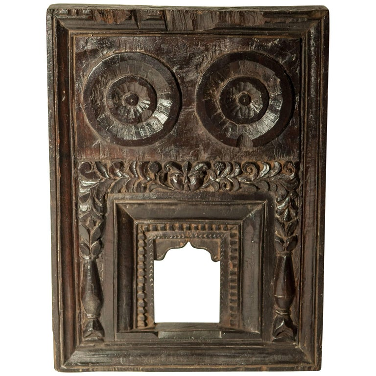 Miniature Architectural Votive and Picture Frame, Mid-20th Century, India