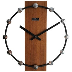 Midcentury Wall Clock by Prim