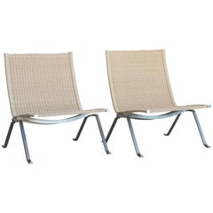 Poul Kjaerholm Pair of PK22 for E. Kold Christensen