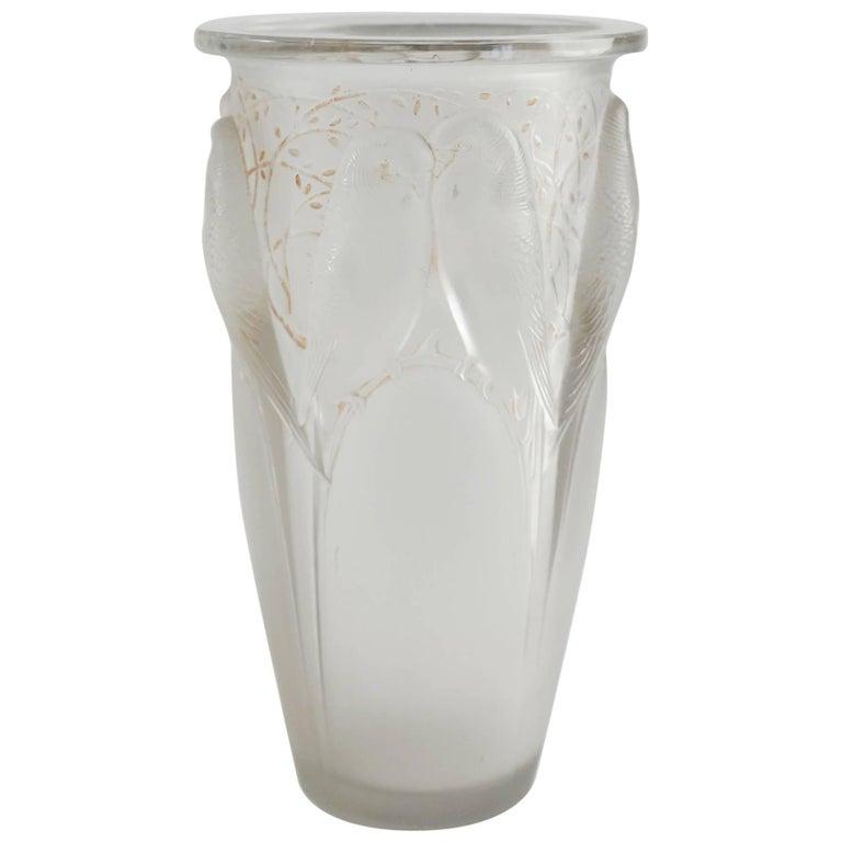 """René Lalique """"Ceylan"""" Vase"""