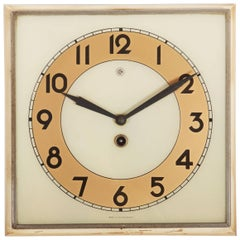 Beautiful Art Deco Wall Clock