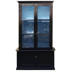 French Tallboy Display Cabinet