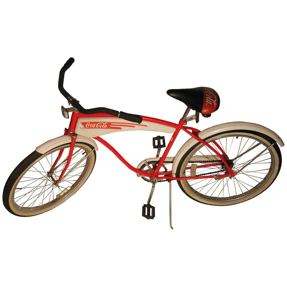 Huffy Beach Cruiser Bicycle by Coca-Cola
