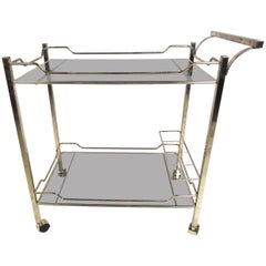 Two-Tier Midcentury Style Serving Cart