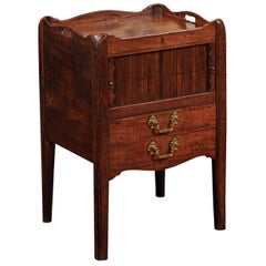 Early 19th Century English George III Mahogany Bedside Commode