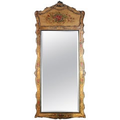 Venetian Hand-Painted Full Length Mirror