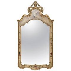 Vintage Italian Chinoiserie Mirror