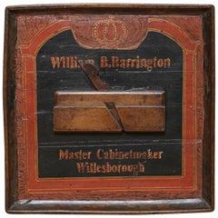 Antique Cabinet Maker's Sign