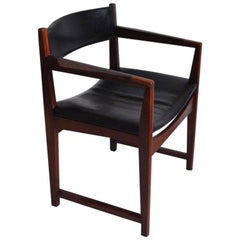 Teak and Rosewood Armchair Designed by Peter Hvidt & Orla Mølgaard-Nielsen