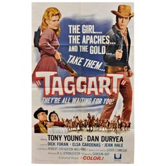 """Taggart"" 1964 Original Movie Poster"
