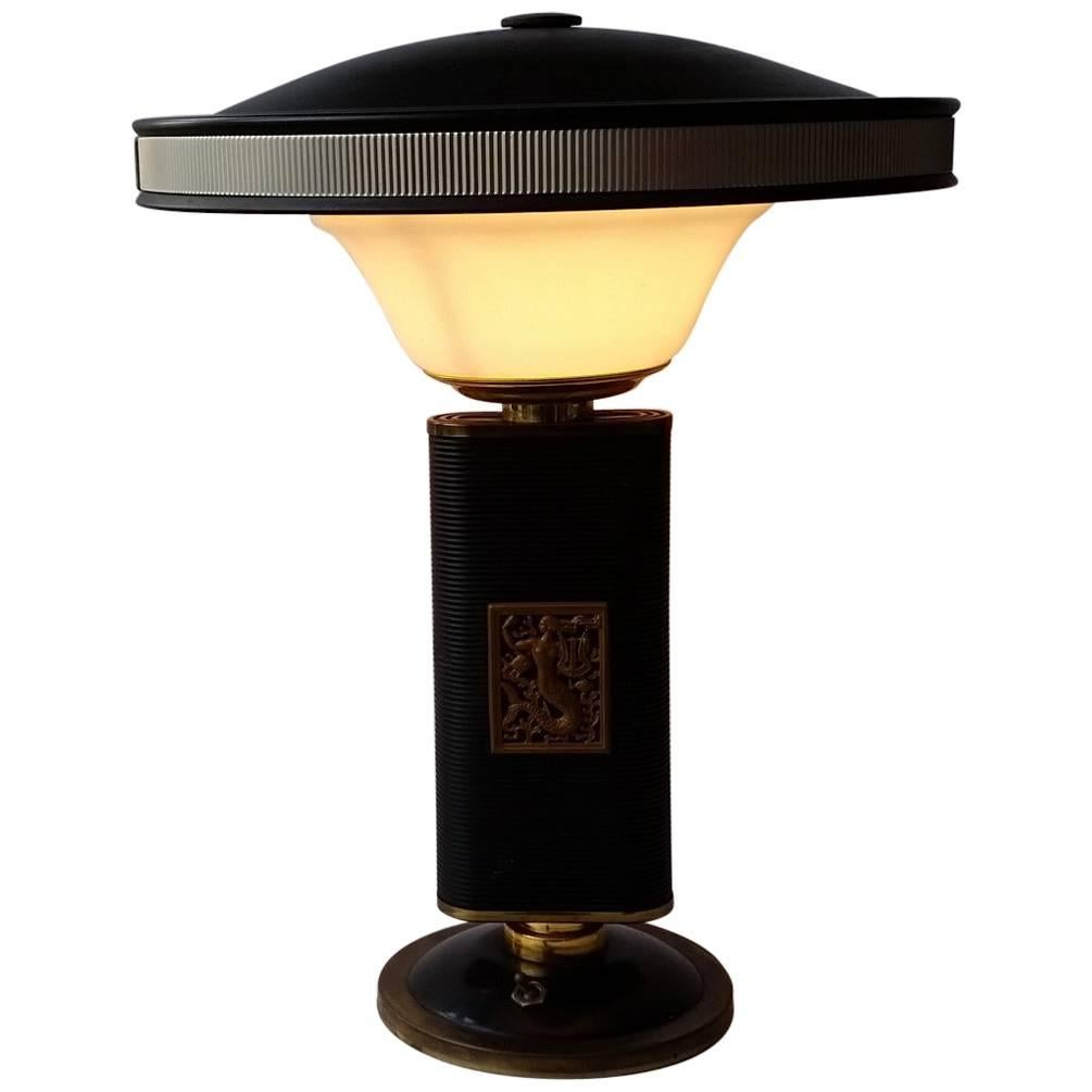 Charmant Art Deco Desk Lamp By Eileen Gray For Sale At 1stdibs