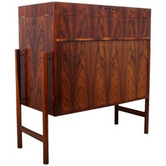 Midcentury Dry Bar in Rosewood by Mogens Kold
