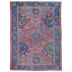 Antique Oushak Carpet, Western Anatolia