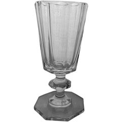 Crystal White Wine Goblet Set Made in Germany