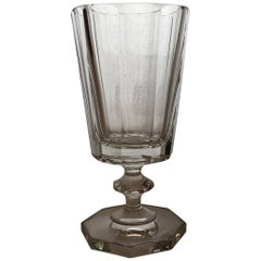 Crystal Water Goblet Set Made in Germany