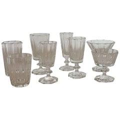 Crystal Glass Goblet Set