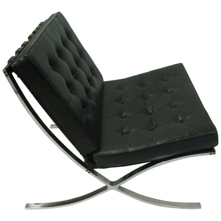 Mid-Century Modern Barcelona Chair Mies van der Rohe