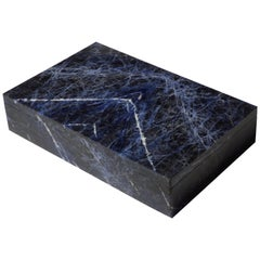 Beautiful Sodalite Box by Studio Superego, Unique Piece, Italy