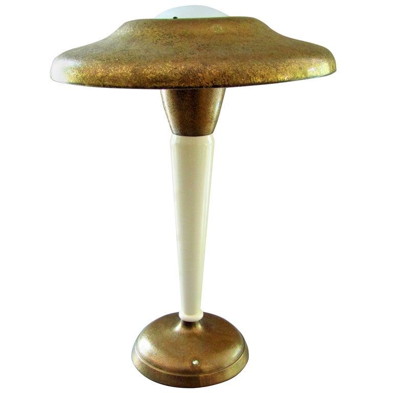 Art Deco Desk Lamp by Genet & Michon, France, 1930