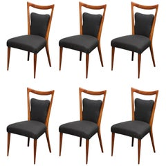 Set of Six Vintage Melchiorre Bega Dining Chairs