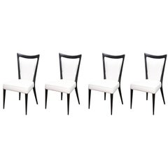Set of Four Vintage Melchiorre Bega Dining Chairs