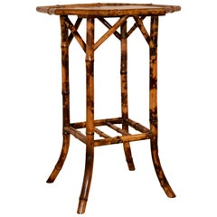 19th Century Chinoiserie Bamboo Table