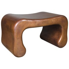 Pong Leg Seat, Copper by Robert Kuo, Limited Edition, In Stock