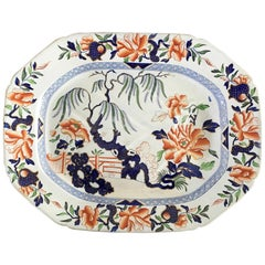 Hicks & Meigh Staffordshire Meat Platter, circa 1815
