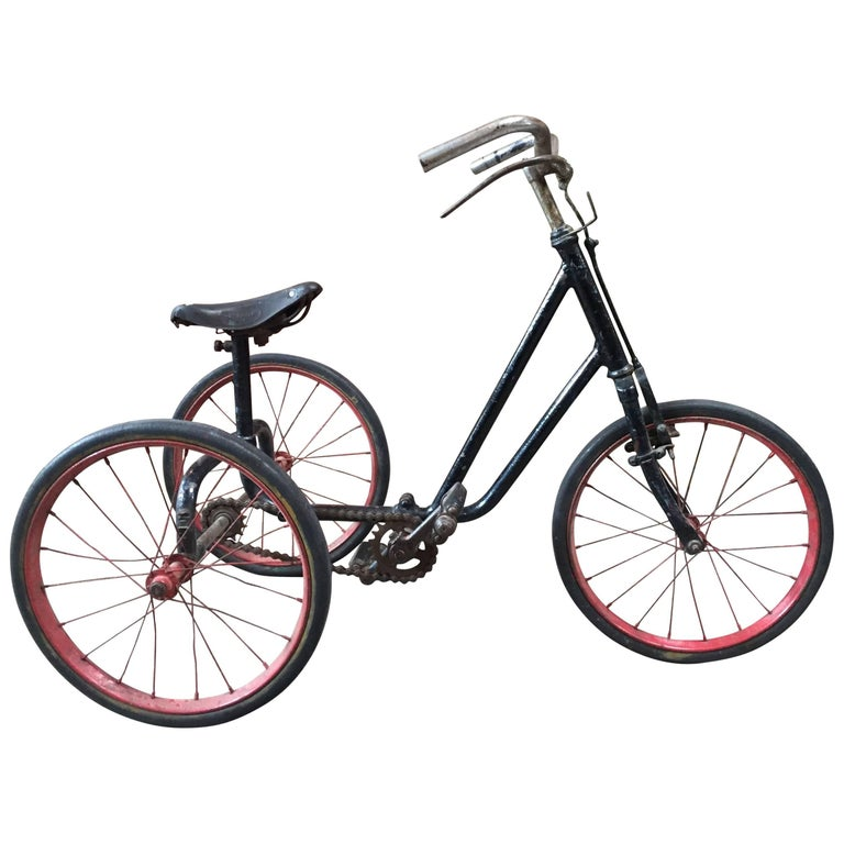 1920s British Dunlop Tricycle Bike For Sale