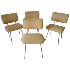 George Nelson Tubular Dining Chairs