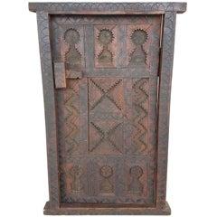 Tishka Brown Moroccan Door or Shutter