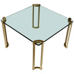 Coffee Table in Bronze and Glass