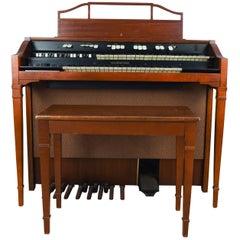 Hammond Model L-111A Tube Organ with Bench