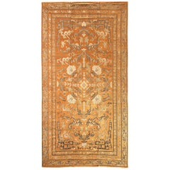 Imperial Cut Silk Velvet and Metal-Thread Kang Carpet