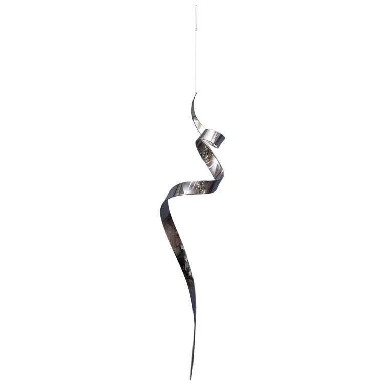 "David Herschler ""Moving Ribbons"" Hanging Sculpture"