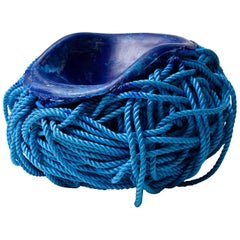 Meltdown Chair PP Rope Blue Chair by Tom Price, 2007