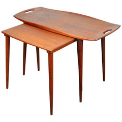 Jens Quistgaard for Richard Nissen Teak Nesting Tables