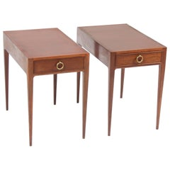 Pair of End Tables by Ernst Kühn