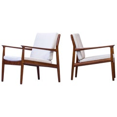 1950s Easy Chairs by Grete Jalk, Denmark, 1950s