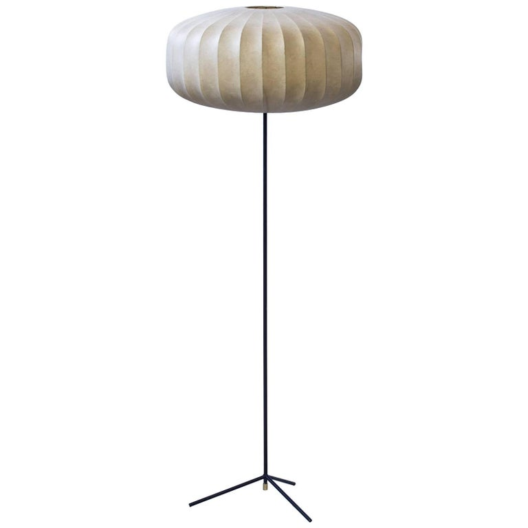 Floor Lamp by Hans Bergström, Sweden, 1950s