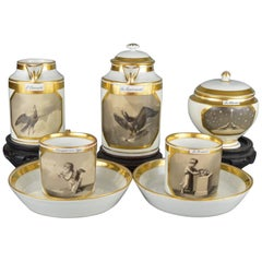 Vienna Empire Porcelain Coffee Service, circa 1815